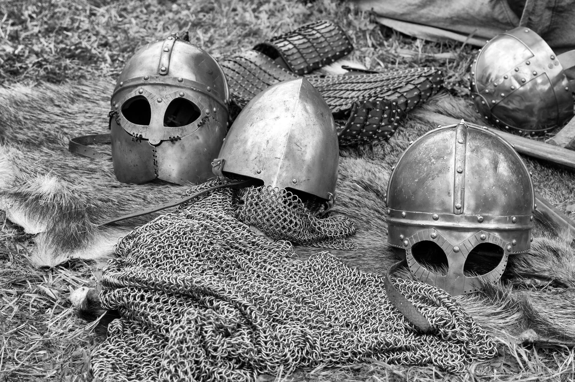 ancient armor black and white chivalry